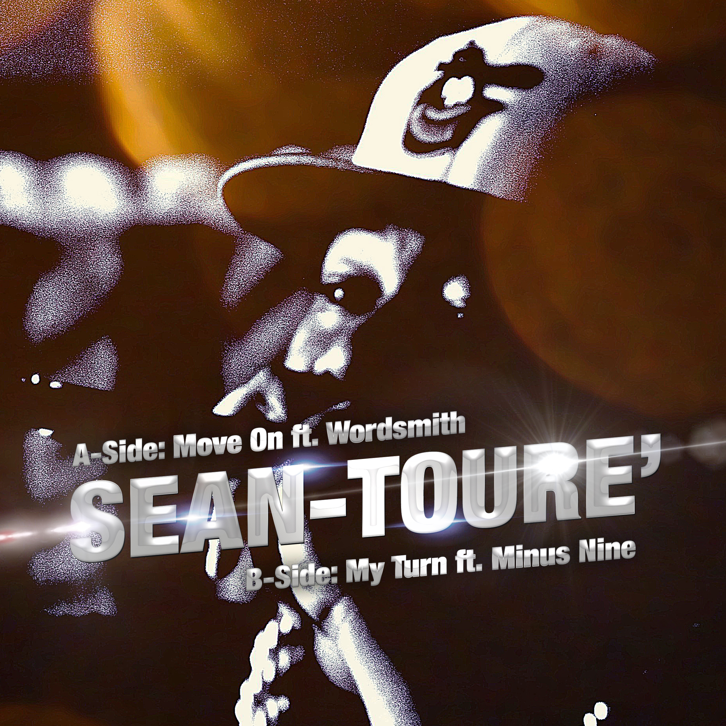 Sean-Toure Move On CD Cover 1